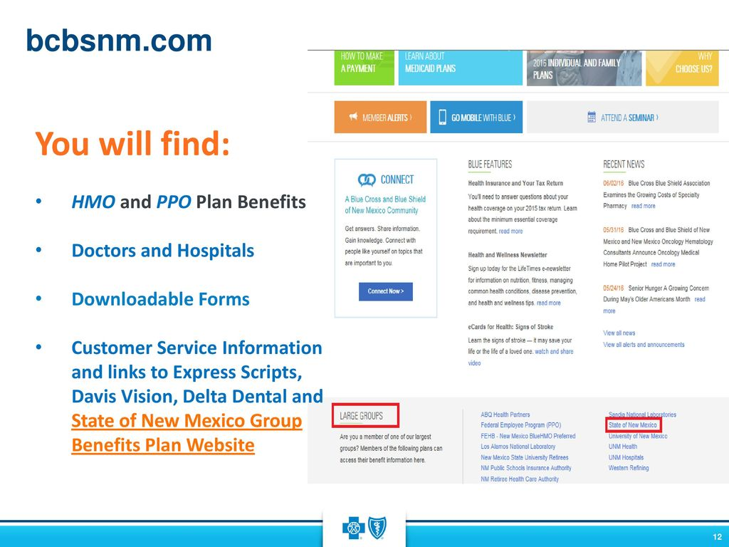 de178a10661 Welcome State of New Mexico Group Benefits Plan Year  Jan – Dec ppt ...