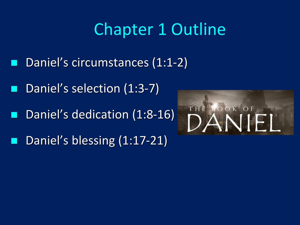 DANIEL INTRODUCTION Dr  Andy Woods  - ppt download
