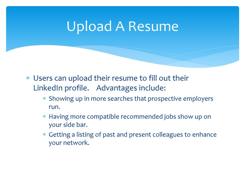 linkedin to networking ppt download