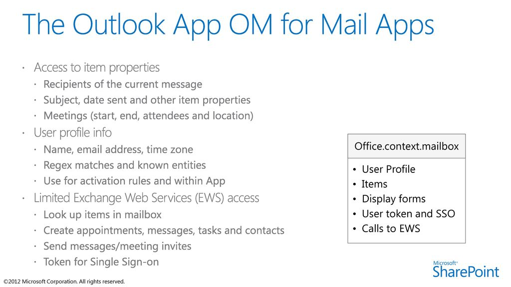 Mail Apps for Office Name Title Company  - ppt download