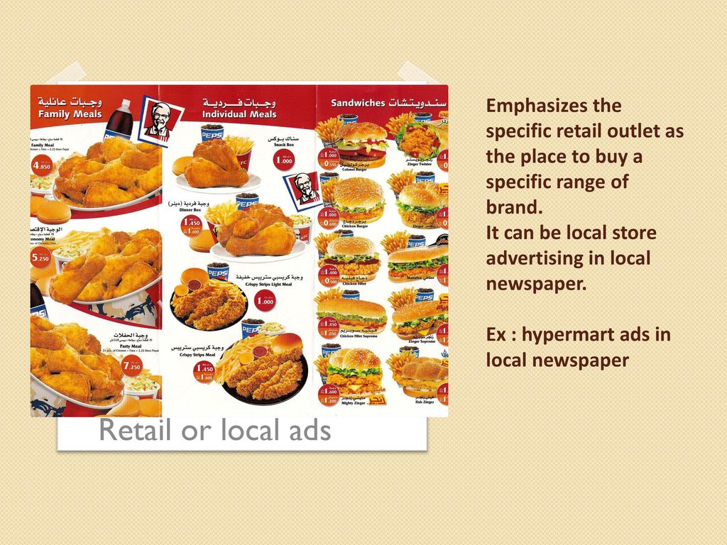 Several Advertising Types Ppt Download