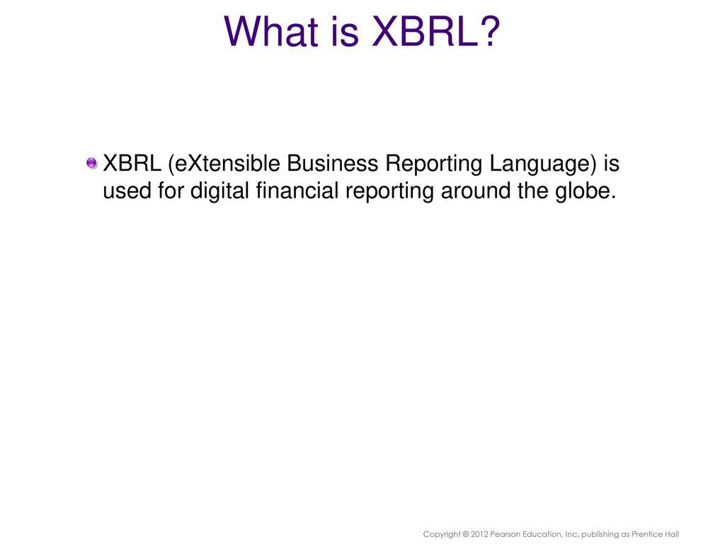 XBRL: Intelligent Business Rep...