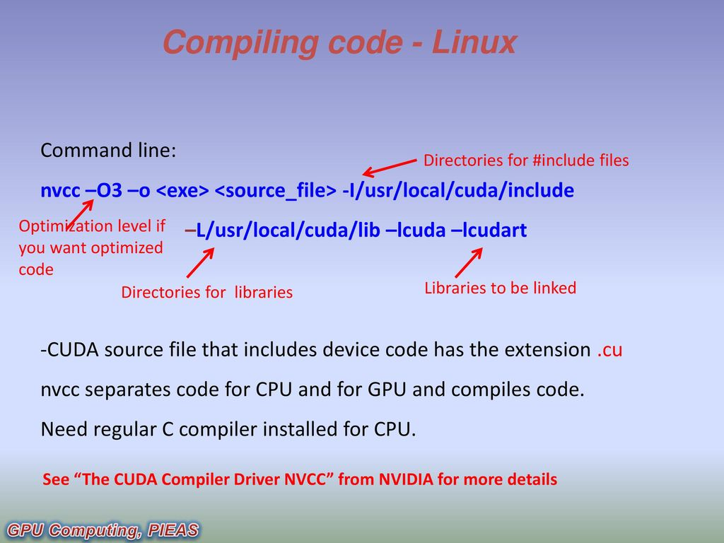 GPU Computing CIS-543 Lecture 03: Introduction to CUDA - ppt download