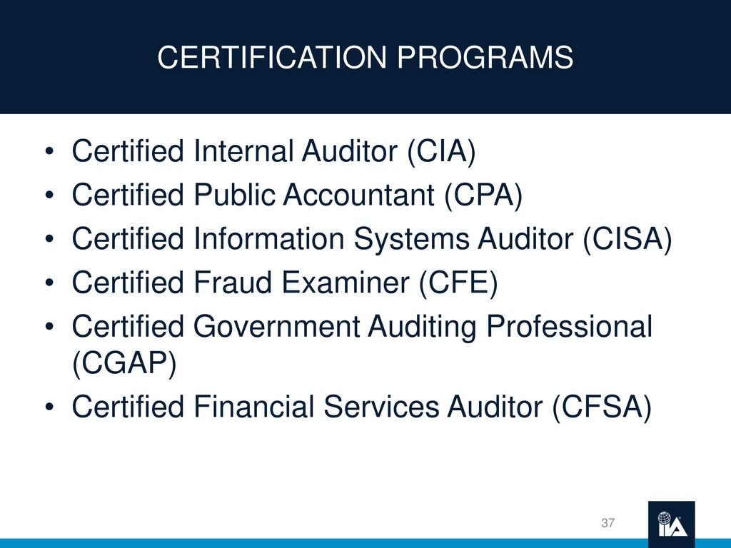 Life As An Internal Auditor Ppt Download