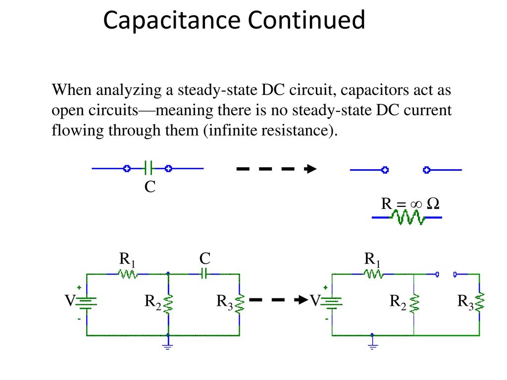 Basic Dc Circuits Review Ppt Download Electrical Series Circuit 21 Capacitance Continued