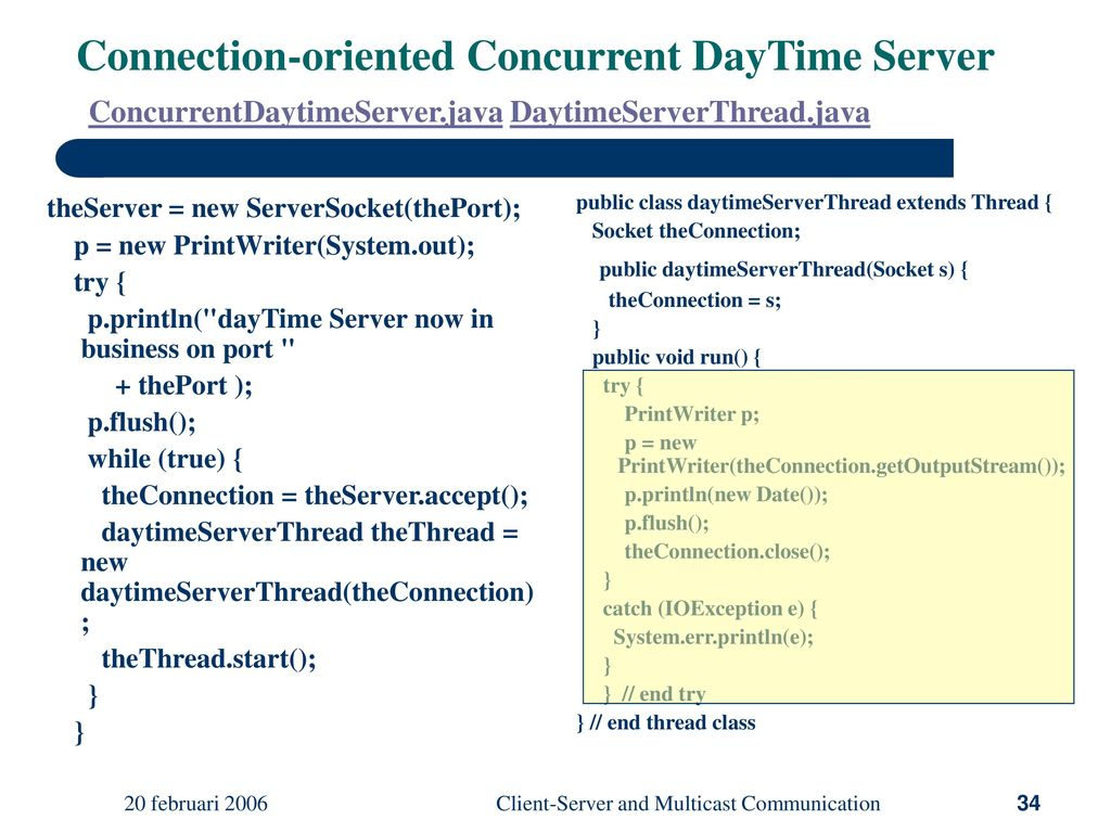 Client-Server and Multicast Communication - ppt download
