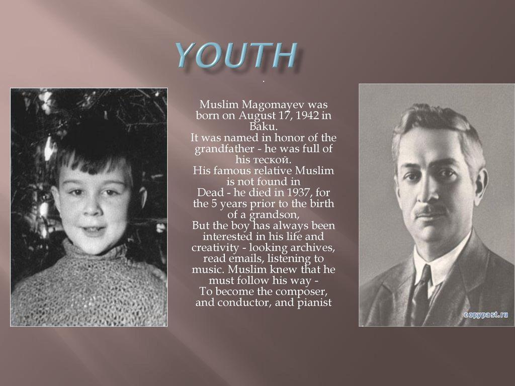 Talented People: Biography of Muslim Magomayev