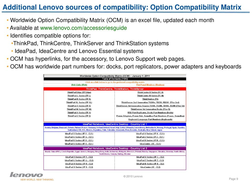 Lenovo Quick Pick ( - ppt download