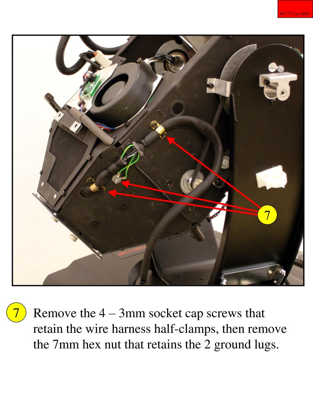 X Spot Lamp Socket Replacement Procedure Ppt Download Removing Wires From Harness 5 7 Remove