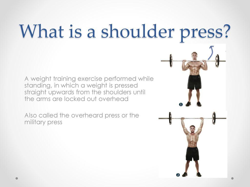 Biomechanics of a Shoulder Press - ppt download
