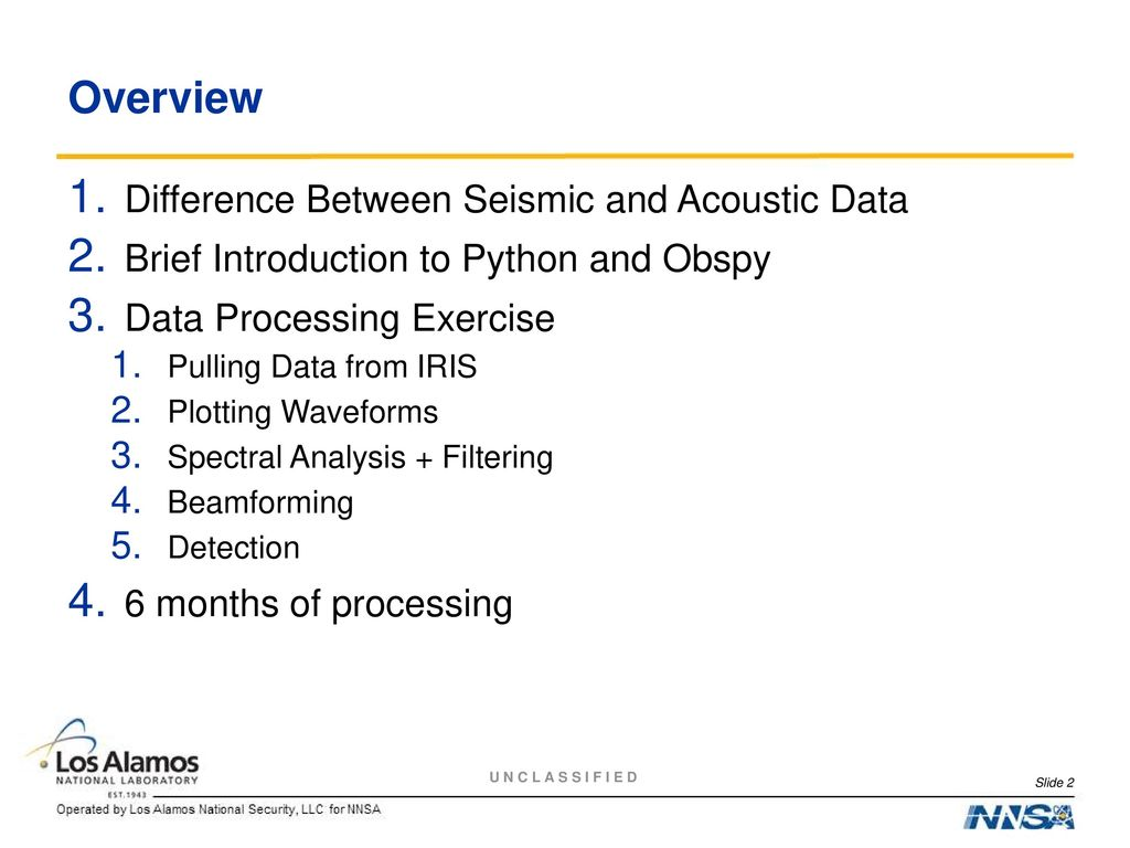 Introduction to Infrasonic Data Processing - ppt download