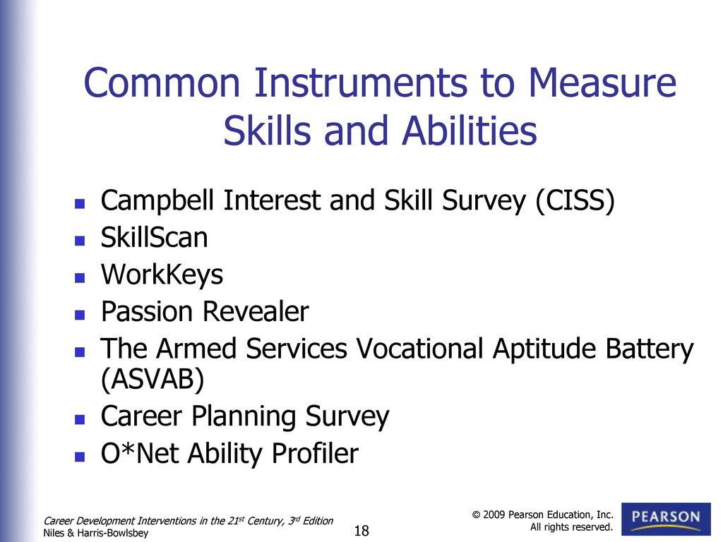 Assessment and Career Planning - ppt download
