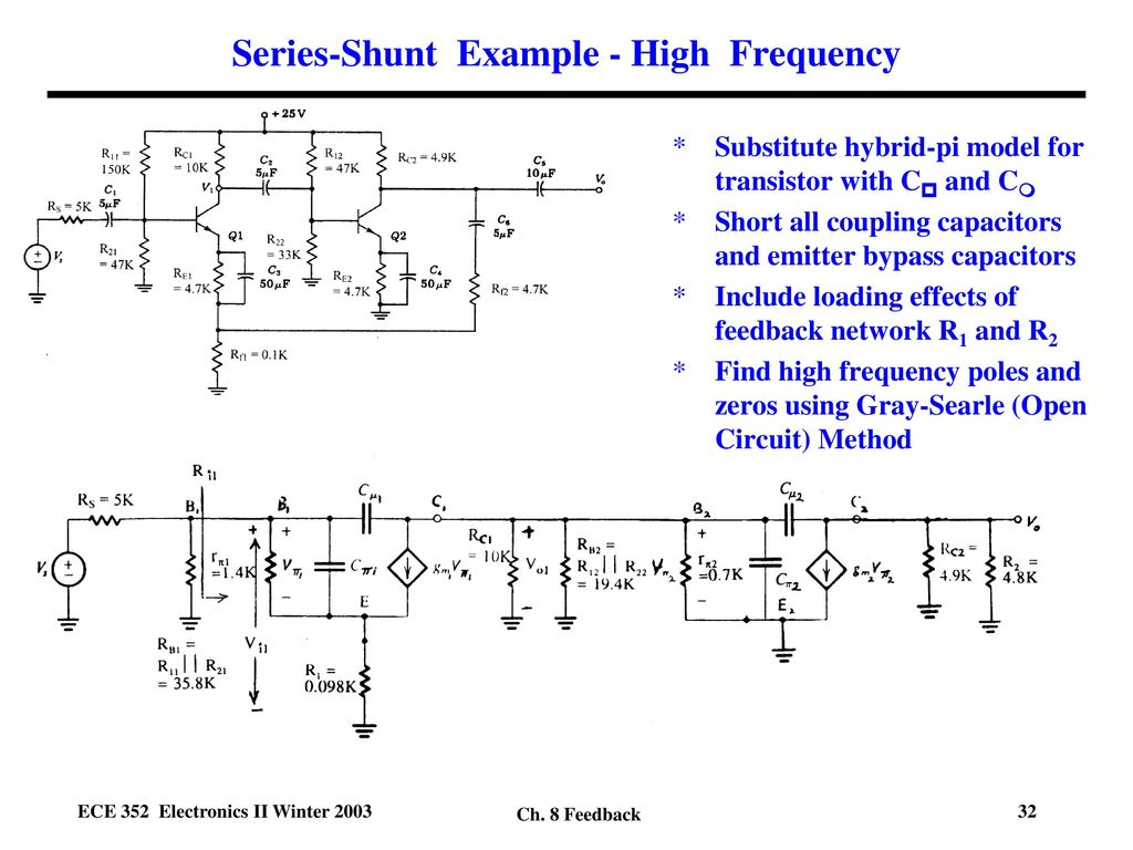 Feedback Xs Xi Xo Xf F Ppt Download How To Place A Coupling Capacitor In Circuit 32 Series Shunt