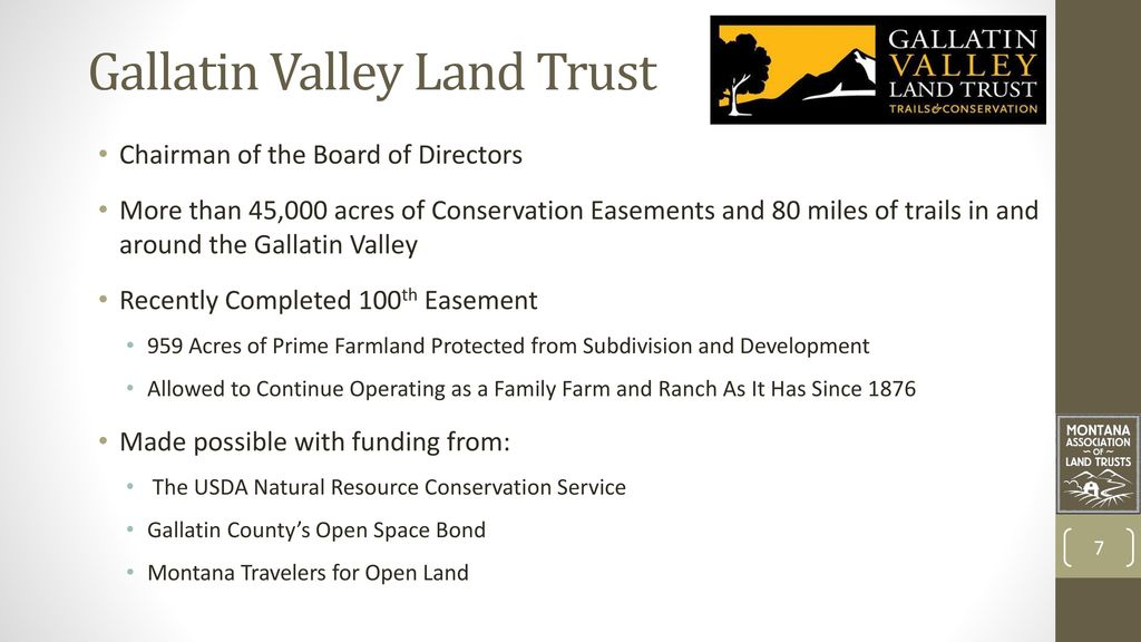 The Land Owner's Perspective - ppt download