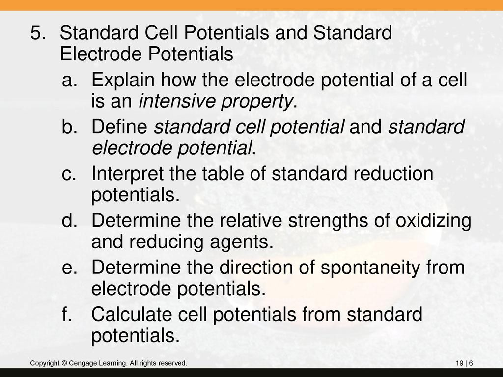 Equilibrium Constants From Cell Potentials Ppt Download