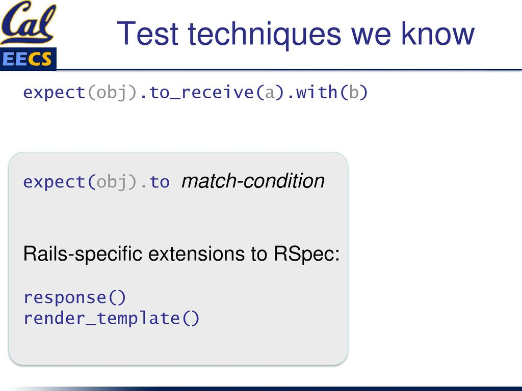 Intro to RSpec & Unit Tests (E...