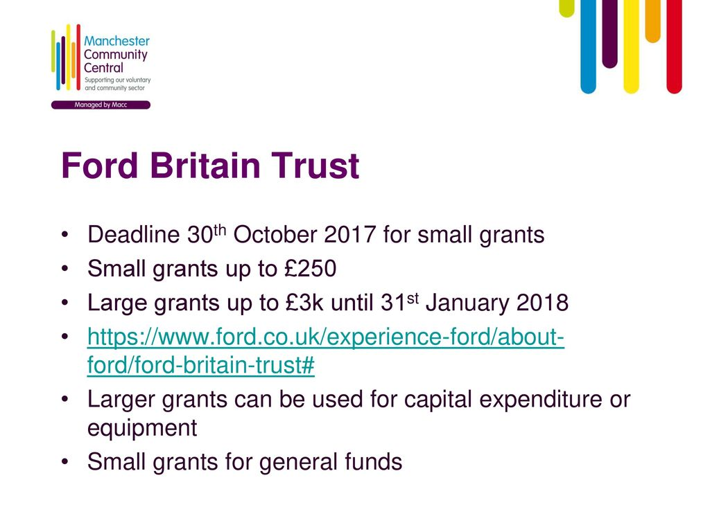 Local Funding Opportunities - ppt download