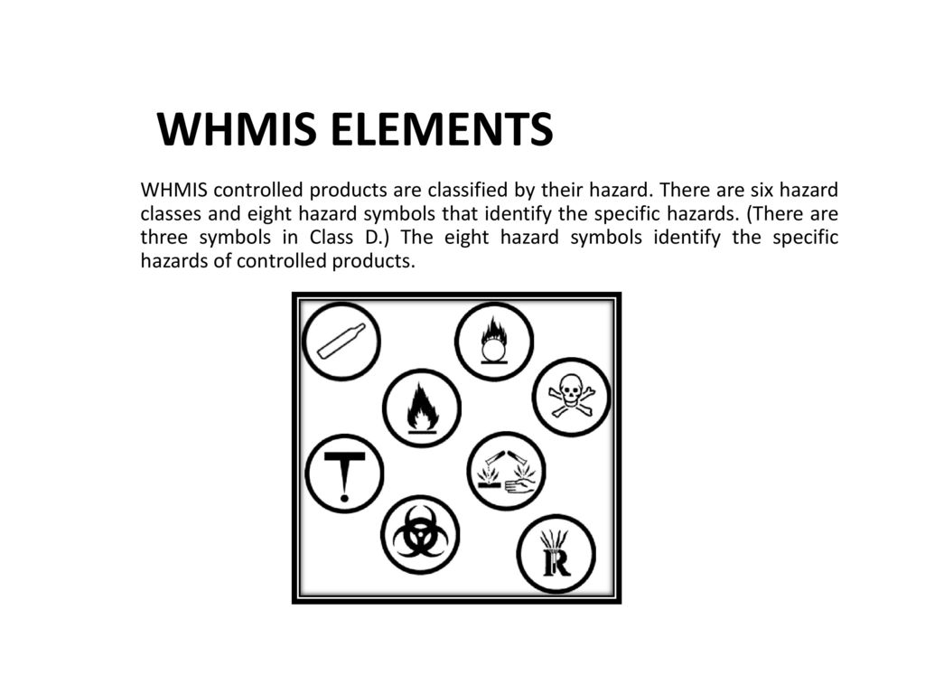 Whmis The Basics Ppt Download