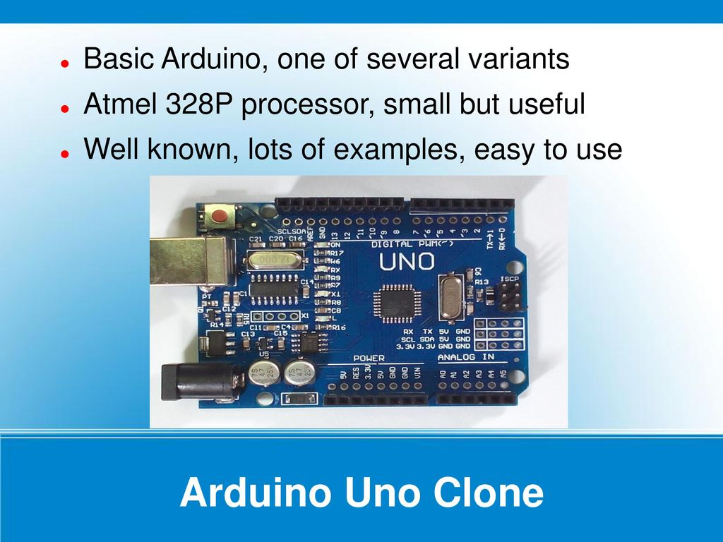 Introducing the Arduino boards & some supporting modules