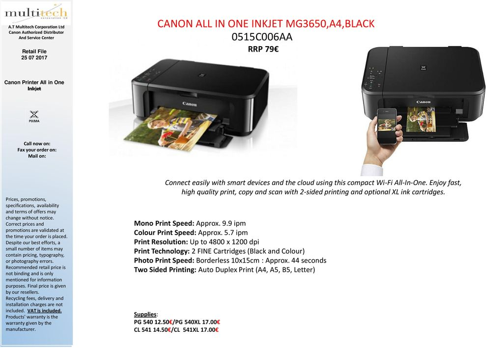 Canon All-in-One Printers and SF Printers - ppt download