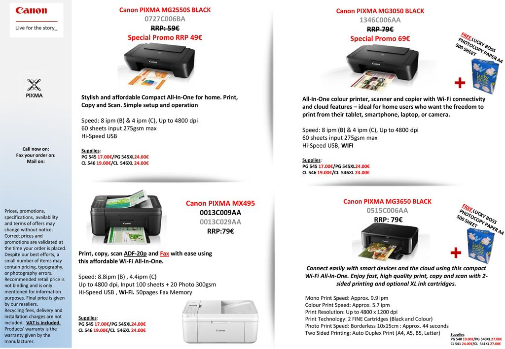 Canon All In One Printers And Sf Printers Ppt Download