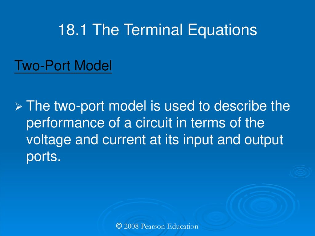 ELECTRIC CIRCUITS EIGHTH EDITION - ppt download