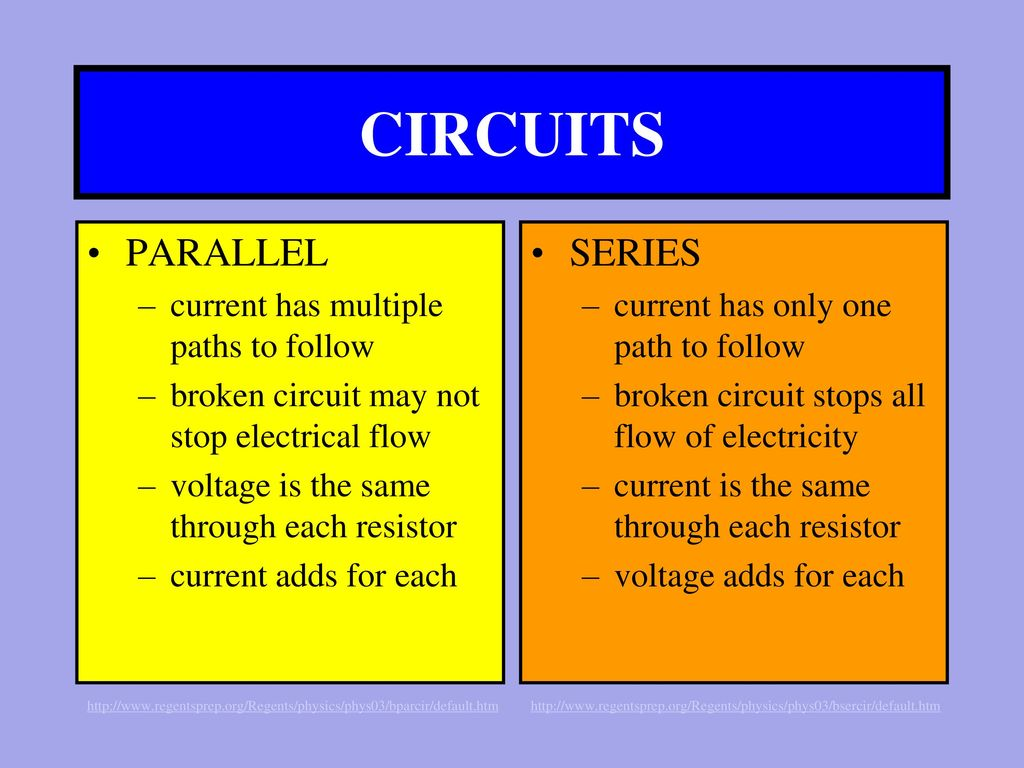 Ch22 Current Electricity Ppt Download Circuit In Parallel And Series 10 Circuits