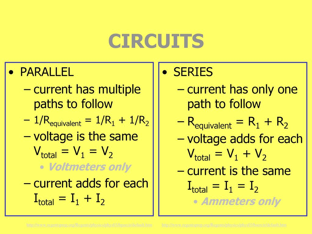 Ch22 Current Electricity Ppt Download Circuits In Parallel And Series 19