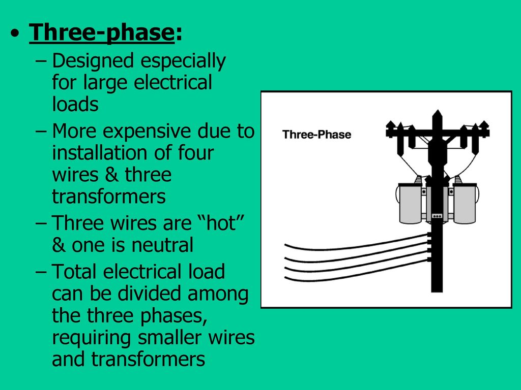 Electrical Principles Terminology And Safety Ppt Download House Wiring Three Phase Designed Especially For Large Loads