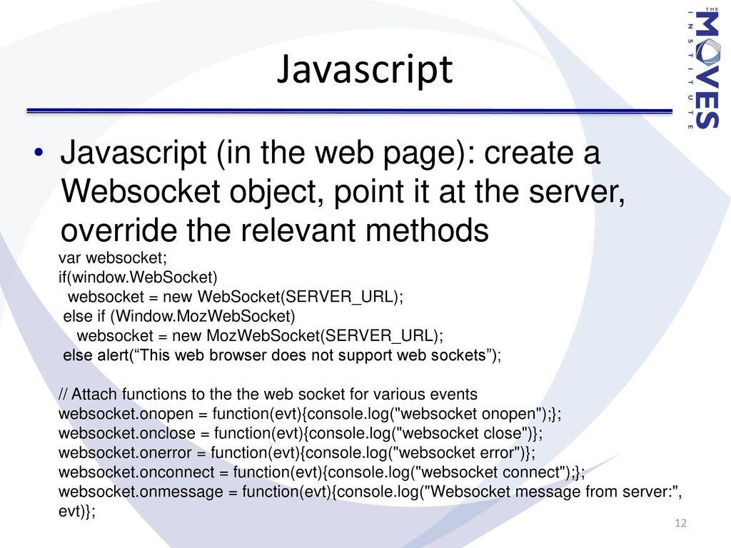 Websocket Onerror