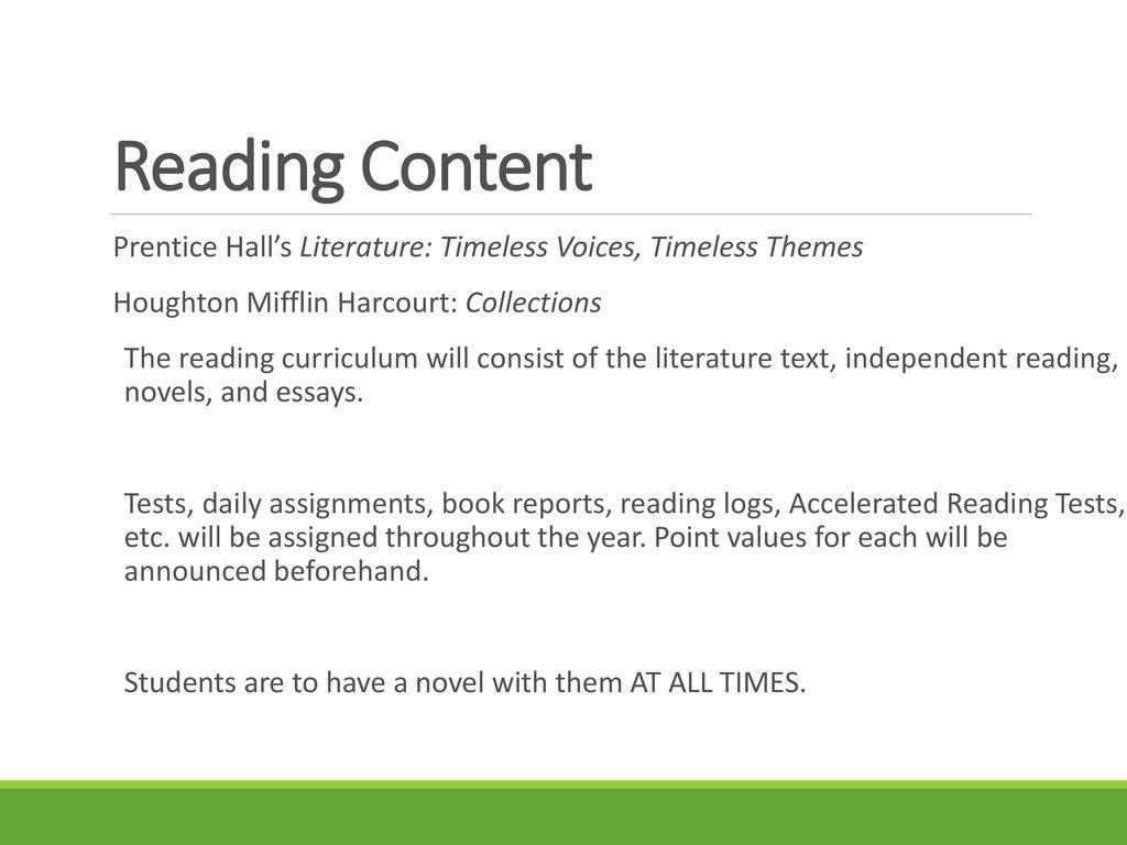 7th Grade Reading Language Arts