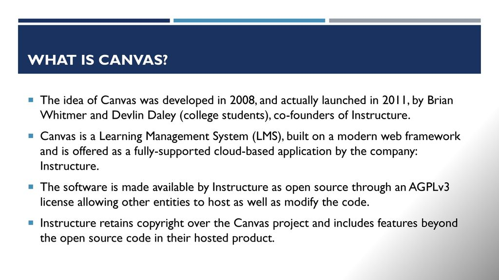 Making Teaching Easy with Canvas - ppt download