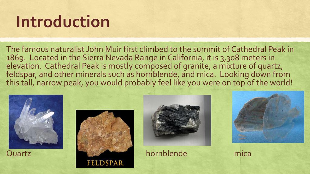 Rocks and Minerals Chapter 2 Lesson ppt download