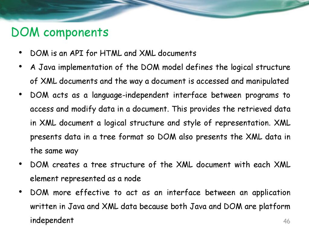 Xml Processing With Java Ppt Download