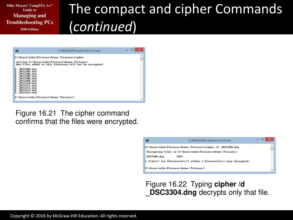 Working with the Command-Line Interface - ppt download