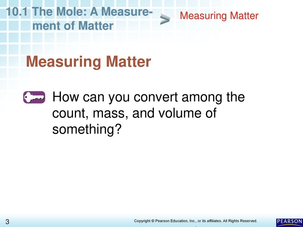 Chapter 10 Chemical Quantities 10 1 The Mole: A Measurement