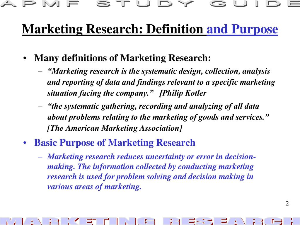 marketing research the research process - ppt download