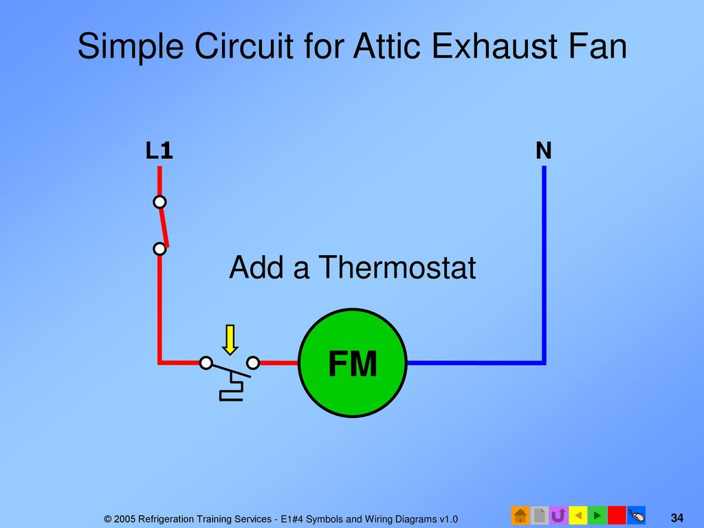 E1 Electrical Fundamentals Ppt Download Simple Circuit Training For Attic Exhaust Fan