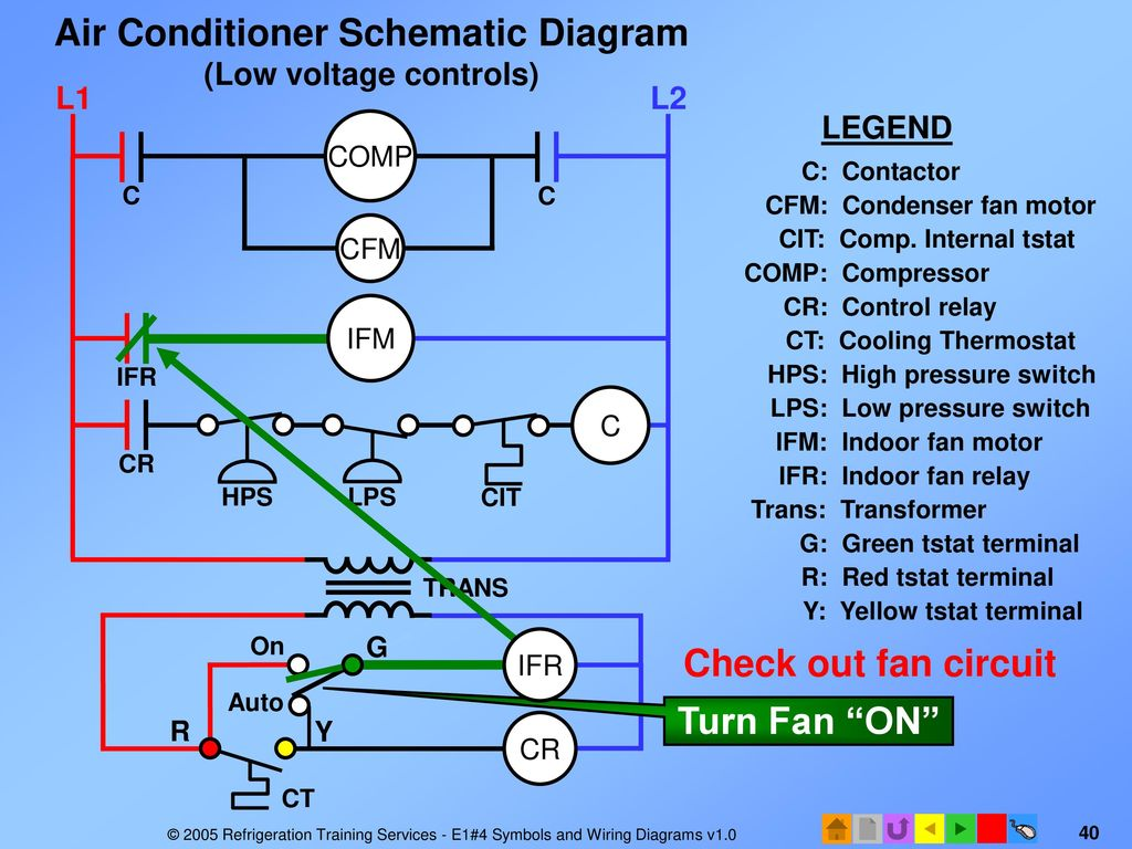 Indoor Fan Relay Wiring Diagram Air Conditioning - Circuit Wiring ...