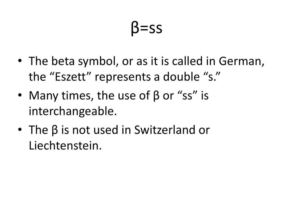 German Pronunciation Notes Ppt Download