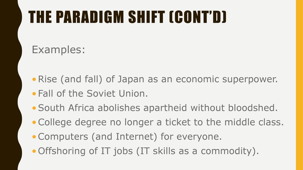 Paradigms And Paradigm Shifts Ppt Download