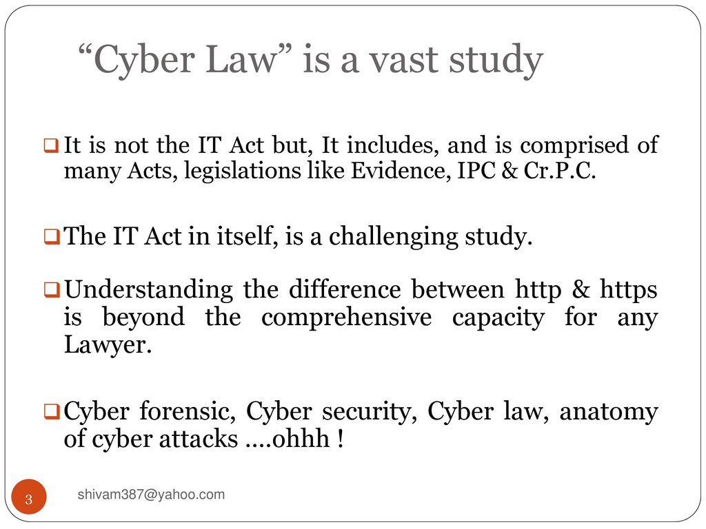 The Cyber Law Regime in India - ppt download