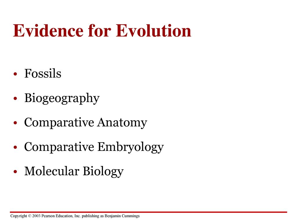 biogeography as evidence that evolution accounts The evidence of evolution please fill out registration form to access in our databases  evolution evolution is what accounts for the signs of shared biological ancestry  biogeography fossils direct observation in his book darwin offered several pieces.
