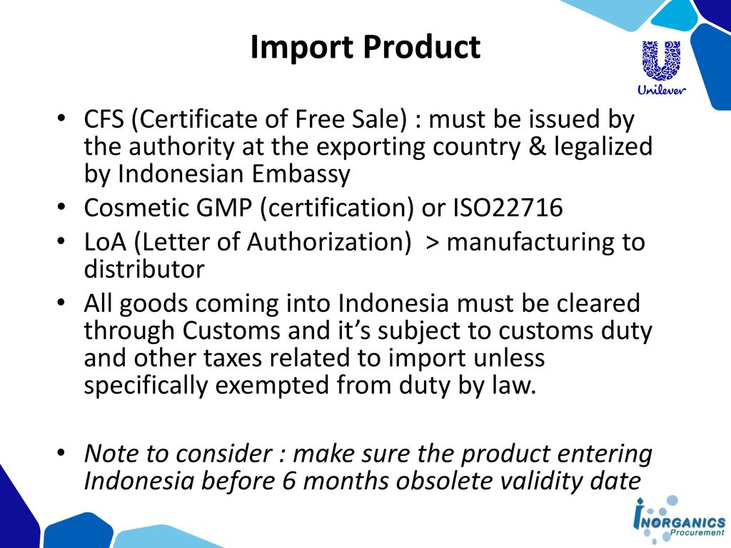 Cosmetic Regulation in Indonesia Korean Cosmetic Association