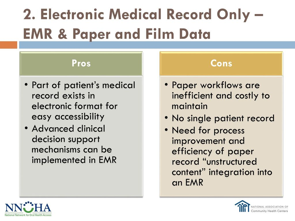 pros and cons of paper based medical records