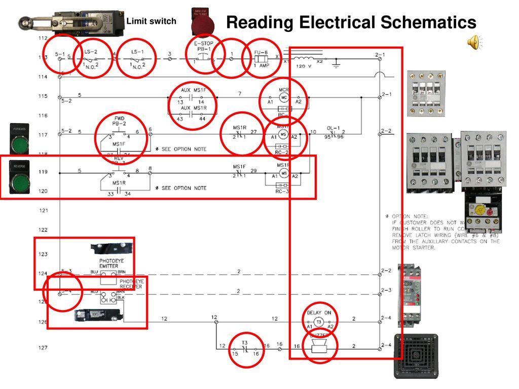 Reading Electrical Schematics Ppt Download Limit Switch Schematic