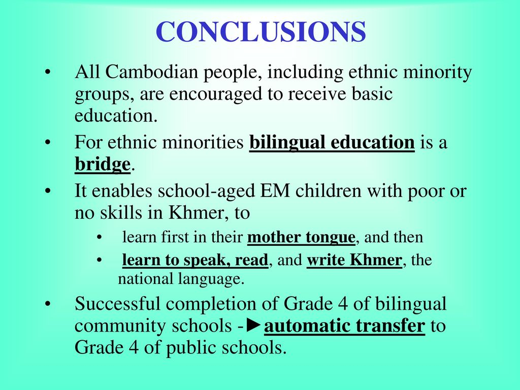EDUCATION POLICIES FOR ETHNIC MINORITIES - ppt download