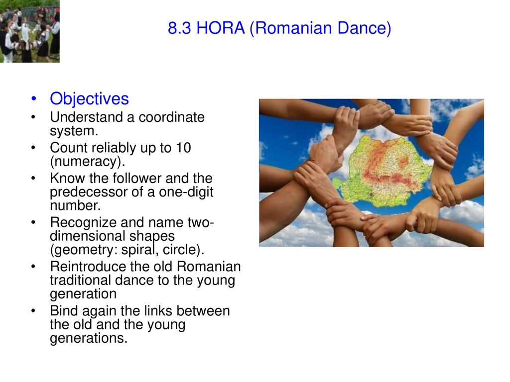 8 3 HORA (Romanian Dance)  8 3 HORA (Romanian Dance) - ppt