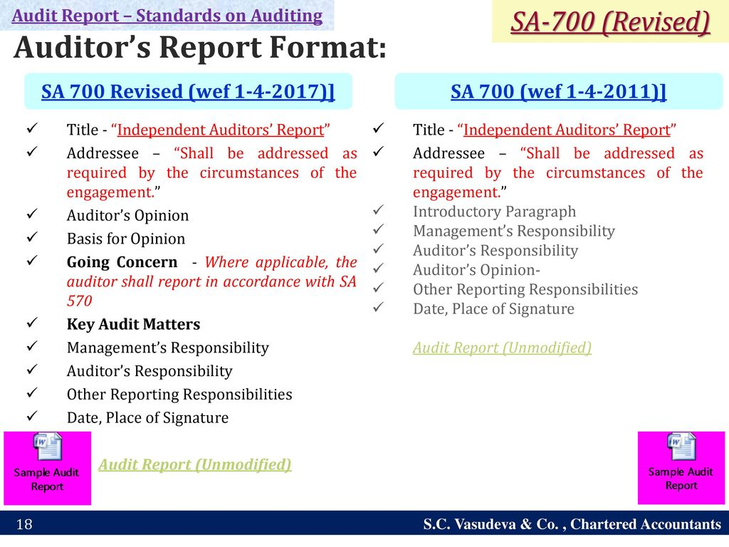 Latest audit reporting requirements including ifc ppt download 18 audit thecheapjerseys Image collections