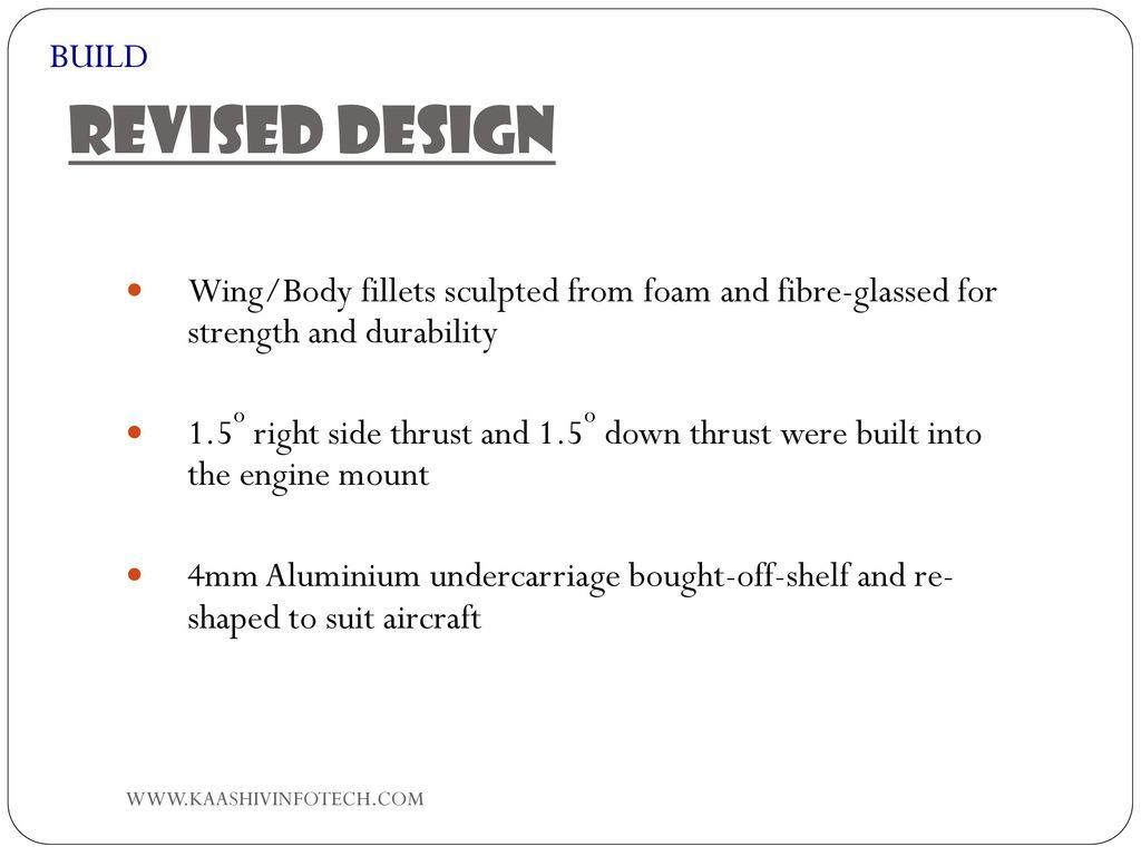 Aircraft Design Process - ppt download